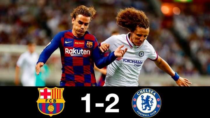 Barcelona 1 - 2 Chelsea (Jul-23-2019) Club Friendly Highlights