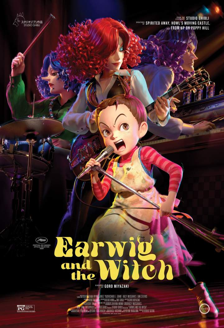 Earwig and the Witch (2020) [Japanese]