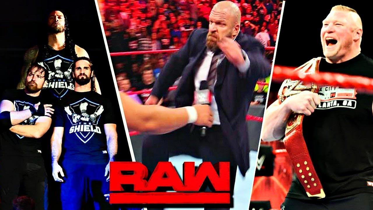 WWE RAW (Nov-13-2017) Highlights