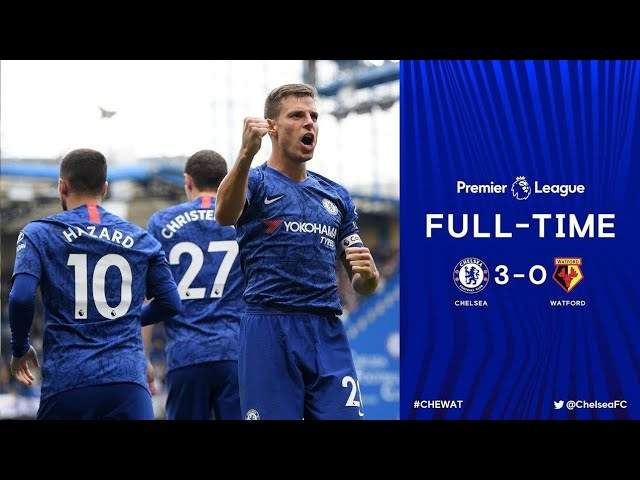 Chelsea 3 - 0 Watford (May-05-2019) Premier League Highlights