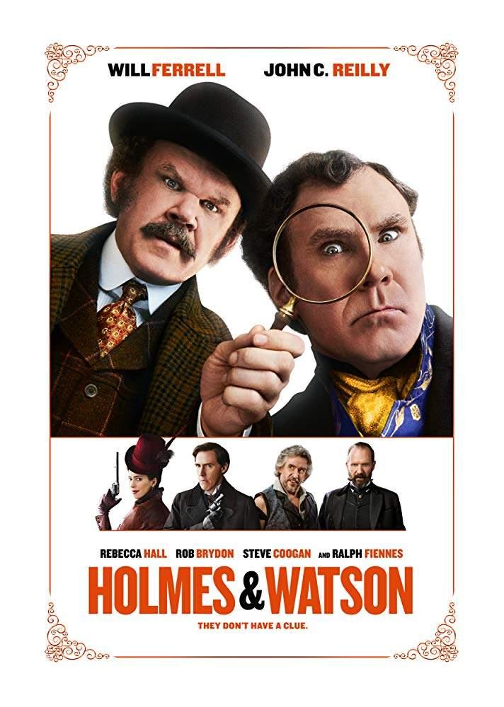 FRESH MOVIE :Holmes & Watson (2018)