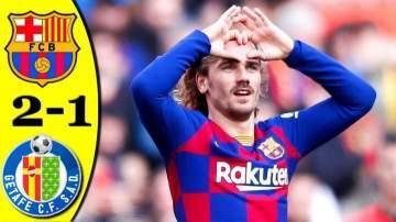 Video: Barcelona 2 - 1 Getafe (Feb-15-2020) LaLiga Highlights
