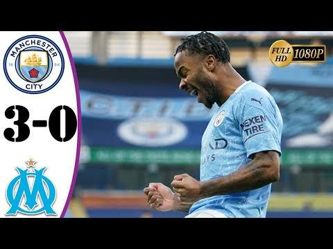 Manchester City 3 - 0 Marseille (Dec-09-2020) UEFA Champions League Highlights