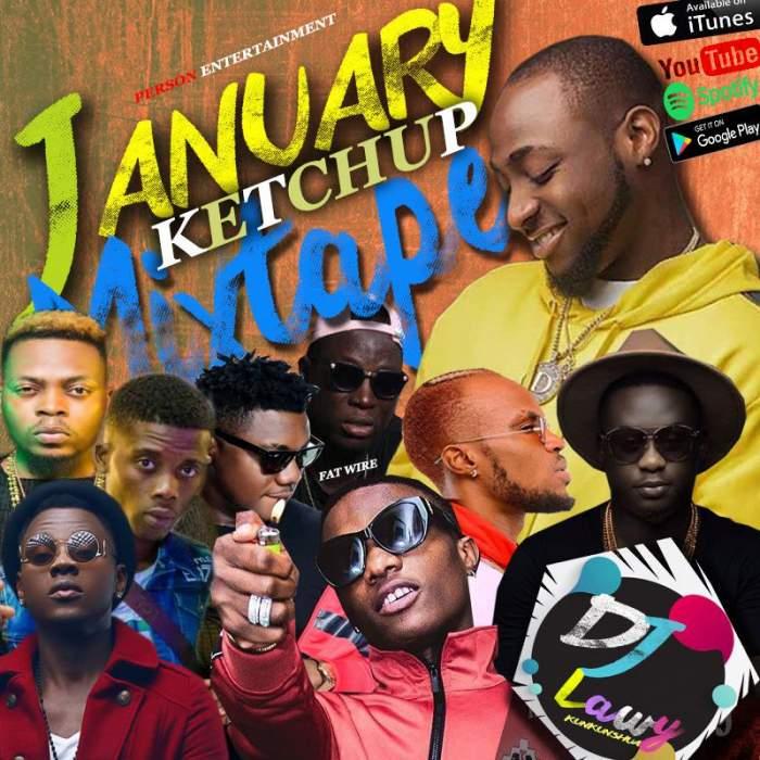 DJ Lawy - January Ketchup Mixtape