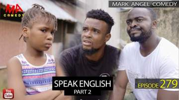 Comedy Skit: Mark Angel Comedy - Episode 279 (Speak English Part 2)