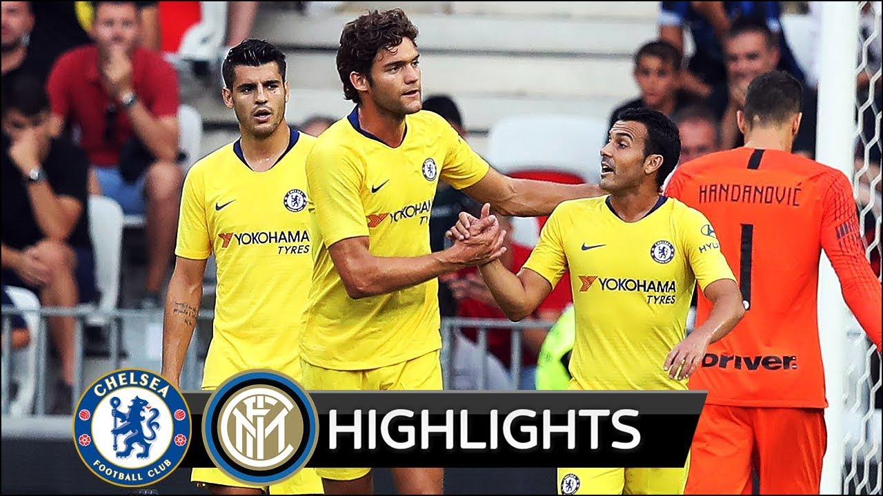 Chelsea 1 - 1 (5 -4 Pen) Inter Milan (Jul-28-2018) Int'l Champions Cup Highlights