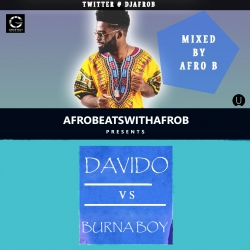DJ Afro B - Davido vs Burna Boy Mix