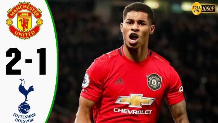 Manchester Utd 2 - 1 Tottenham (Dec-04-2019)  Premier League Highlights