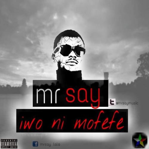 Mr Say - Iwo Ni Mofefe (feat. D Millz)