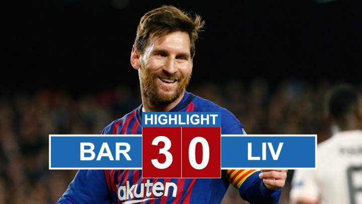 Barcelona 3 - 0 Liverpool (1-May-2019) Champions League Highlights