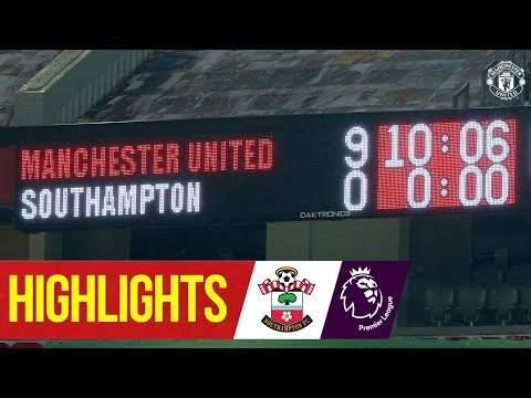 Video: Manchester Utd 9 - 0 Southampton (Feb-02-2021) Premier League Highlights