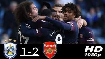 Video: Huddersfield 1 - 2 Arsenal (Feb-09-2019) Premier League Highlights