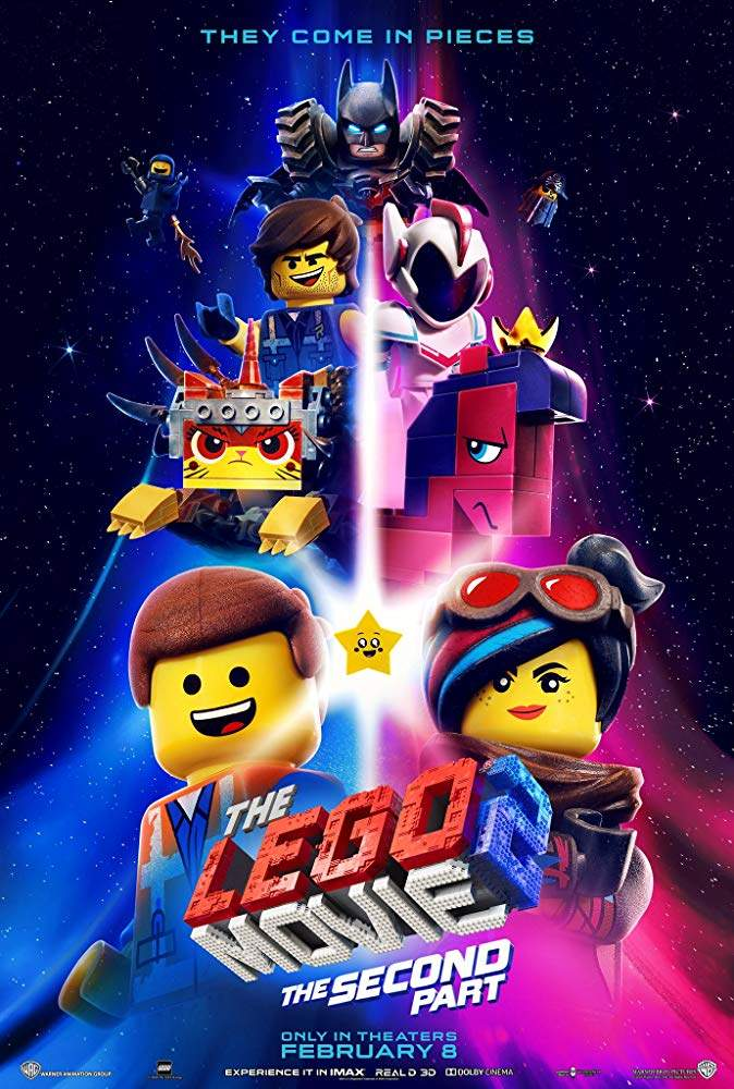 FRESH MOVIE :The Lego Movie 2: The Second Part (2019)