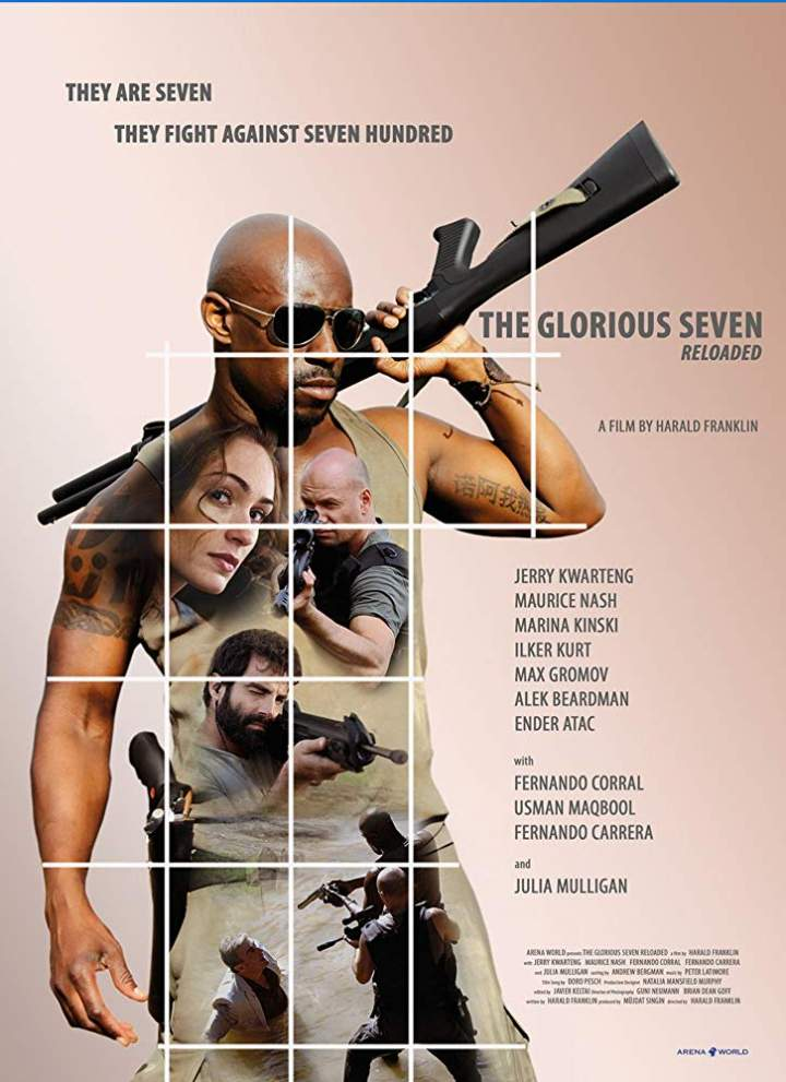 FRESH MOVIE :The Glorious Seven (2019)