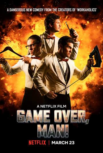 Download Movie: Game Over, Man! (2018)