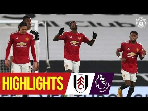 Fulham 1 - 2 Manchester Utd (Jan-20-2021) Premier League Highlights