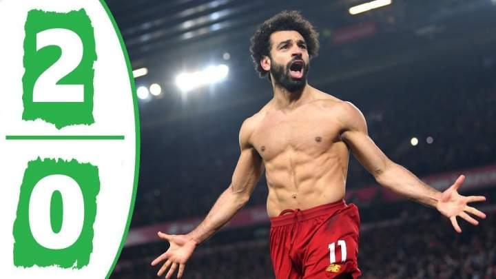 Liverpool 2 - 0 Manchester Utd (Jan-19-2020) Premier League Highlights