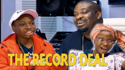 Comedy Skit: Taaooma & Don Jazzy - The Record Deal (Young Money T)