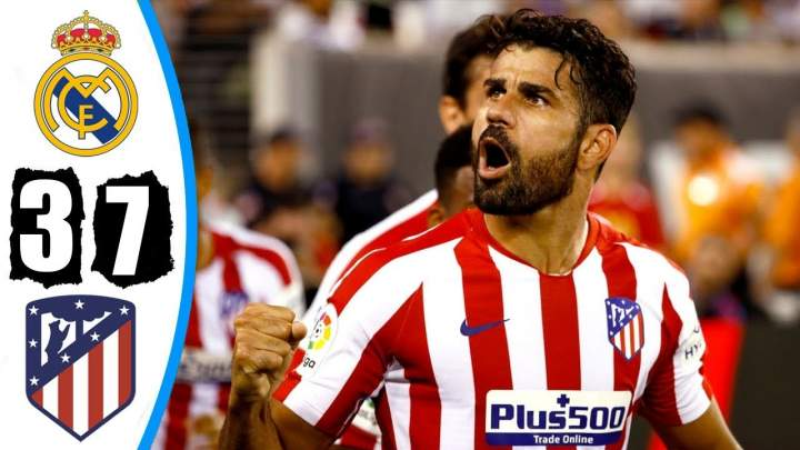 Real Madrid 3 - 7 Atletico Madrid (Jul-26-2019) Int'l Champions Cup Highlights