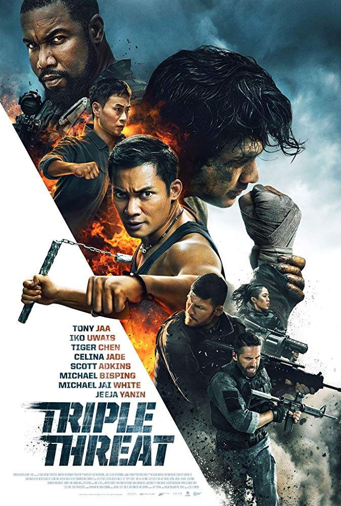 FRESH MOVIE :Triple Threat (2019)