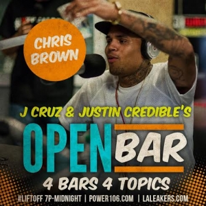 Chris Brown - Open Bar Freestyle