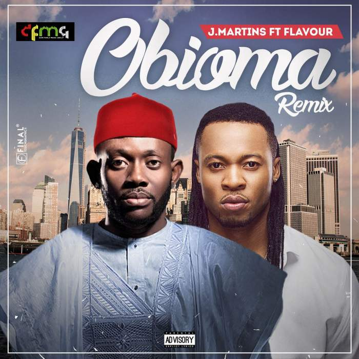 J. Martins - Obioma (Remix) (feat. Flavour)