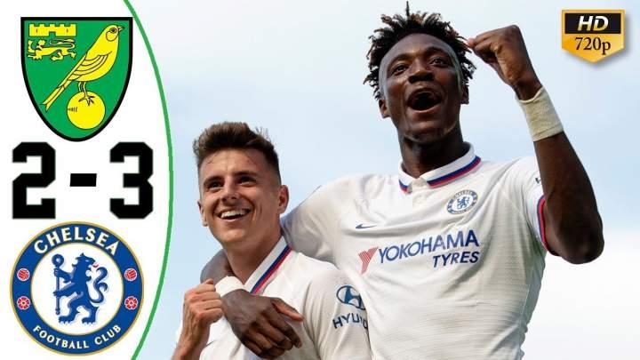 Norwich City 2 - 3 Chelsea (Aug-24-2019) Premier League Highlights