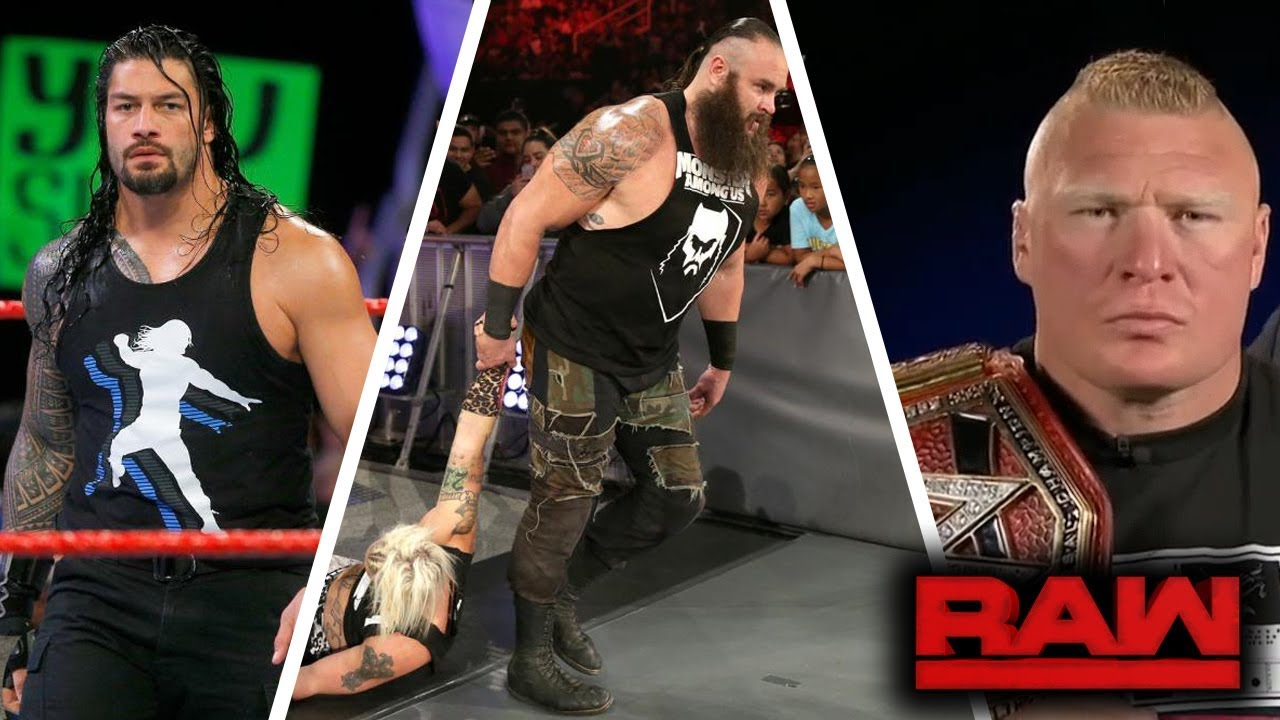 WWE RAW (Sep-18-2017) Highlights