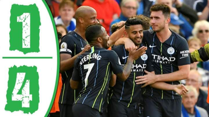 Brighton 1 - 4 Manchester City (12-MAY-2019) Premier League Highlights