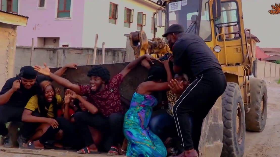 Xploit Comedy - Nigerian vs. Foreign Police Crime Scene.com