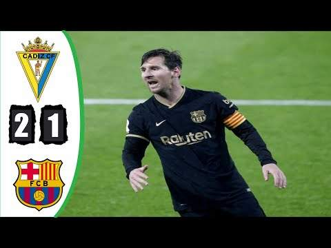 Video: Cadiz CF 2 - 1 Barcelona (Dec-05-2020) LaLiga Highlights