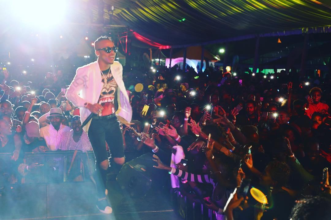 Watch Tekno's Live Performance in Uganda 2017