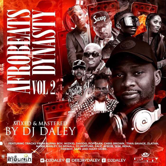 DJ Daley - Afrobeats Dynasty Mix (Vol. 2)