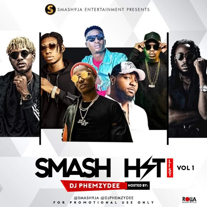 DJ Phemzydee - Smash Hit List (Vol. 1)