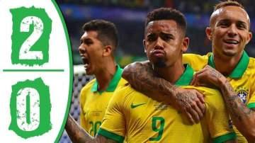 Video: Brazil 2 - 0 Argentina (Jul-3-2019) Copa America Highlights