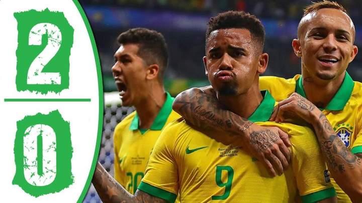 Brazil 2 - 0 Argentina (Jul-3-2019) Copa America Highlights