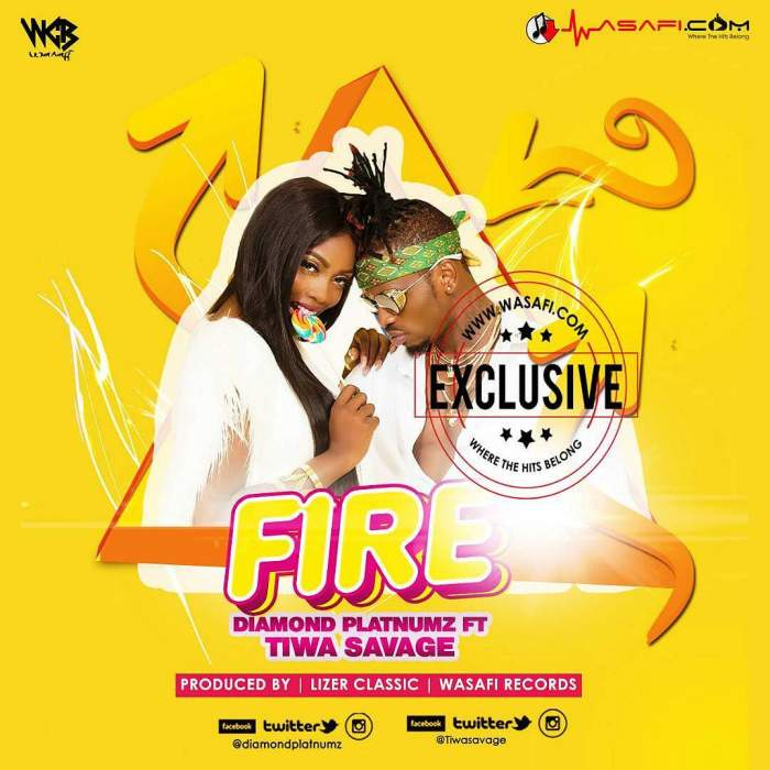 Diamond Platnumz - Fire (feat. Tiwa Savage)