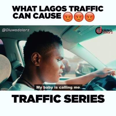 Comedy Skit: Oluwadolarz - Effects of Lagos Traffic (The Expectant Dad)