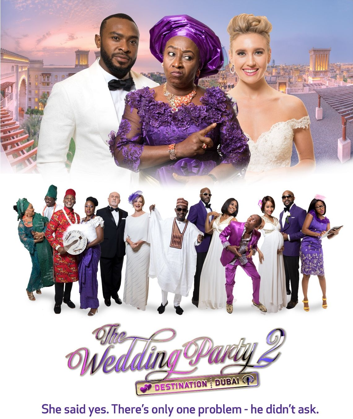 The Wedding Party 2: Destination Dubai (2017)