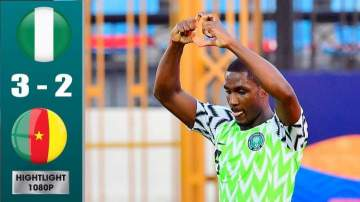 Video: Nigeria 3 - 2 Cameroon (Jul-06-2019) Africa Cup of Nations Highlights