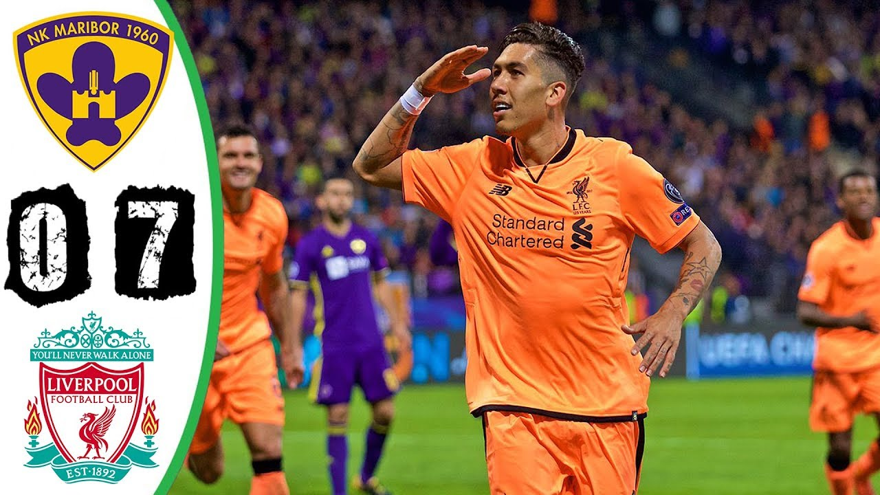 NK Maribor 0 - 7 Liverpool (Oct-17-2017) Champions League Hughlights