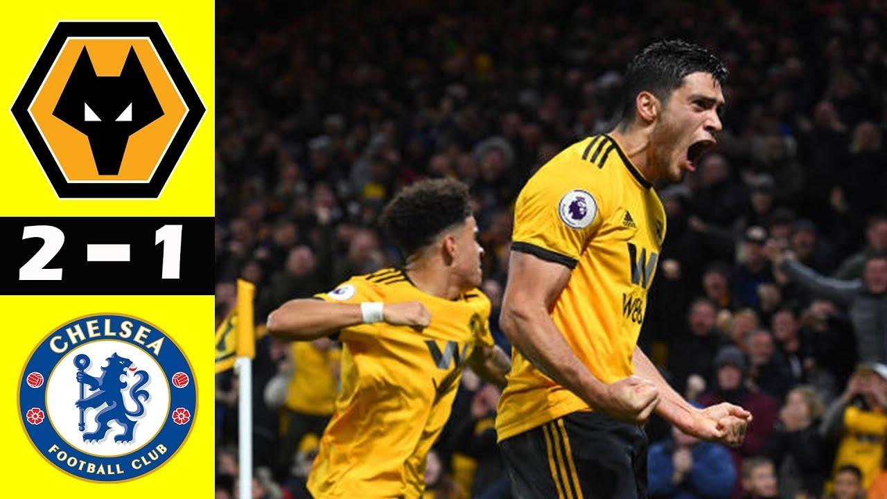Wolves 2 - 1 Chelsea (Dec-05-2018) Premier League Highlights