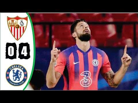 Sevilla 0 - 4 Chelsea (Dec-02-2020) UEFA Champions League Highlights