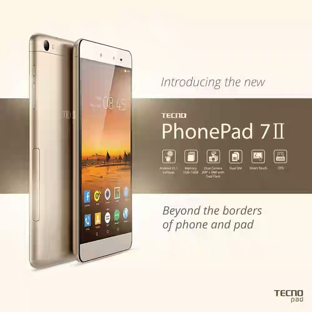 Tecno PhonePad 7 II Specifications and Price in Nigeria