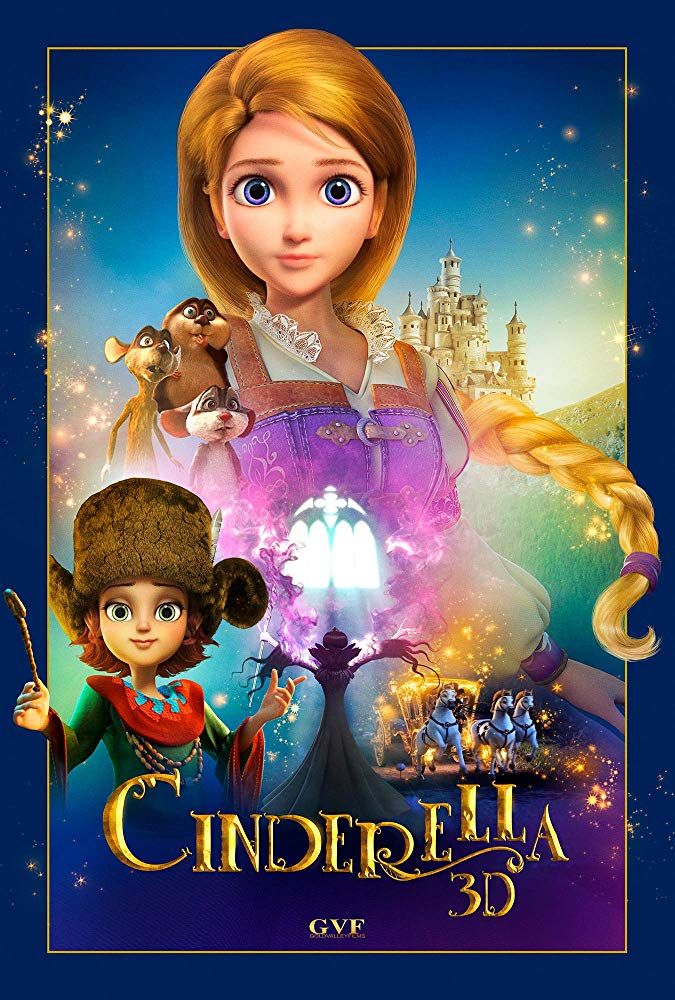 Cinderella and the Secret Prince (2018) [DVDRip]