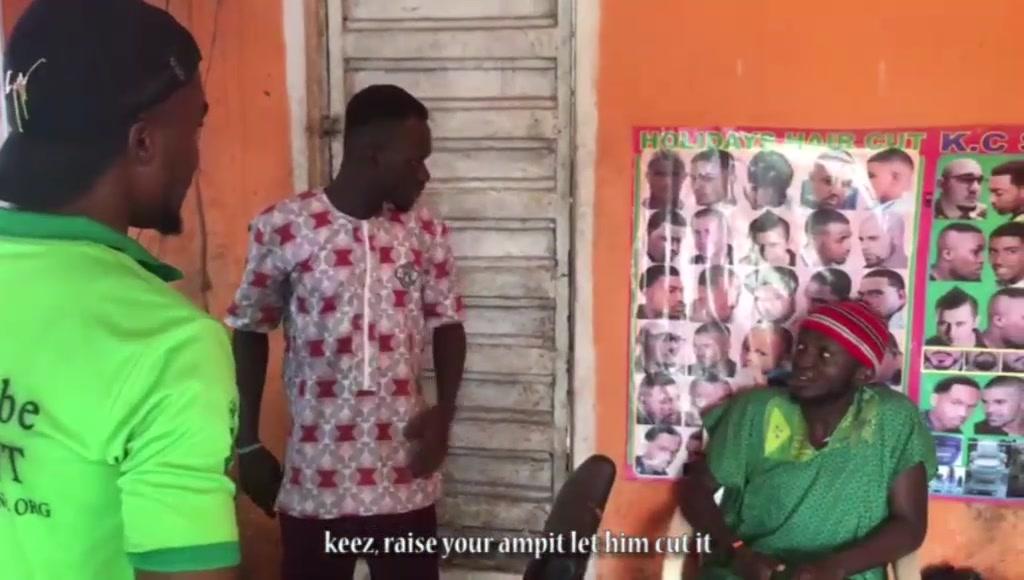 Keez Entertainment - Keez Haircut (Comedy Skit)