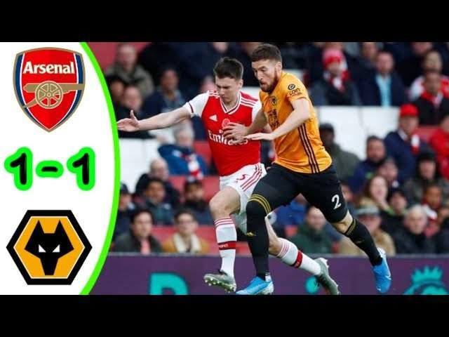 Arsenal 1 - 1 Wolves (Nov-02-2019) Premier League Highlights