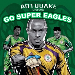 ArtQuake - Go Super Eagles