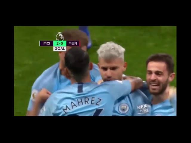 Manchester City 3 - 1 Manchester United (Nov-11-2018) Premier League Highlights