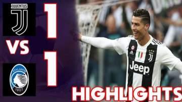 Video: Juventus 1 - 1 Atalanta (19-MAY-2019) Serie A Highlights